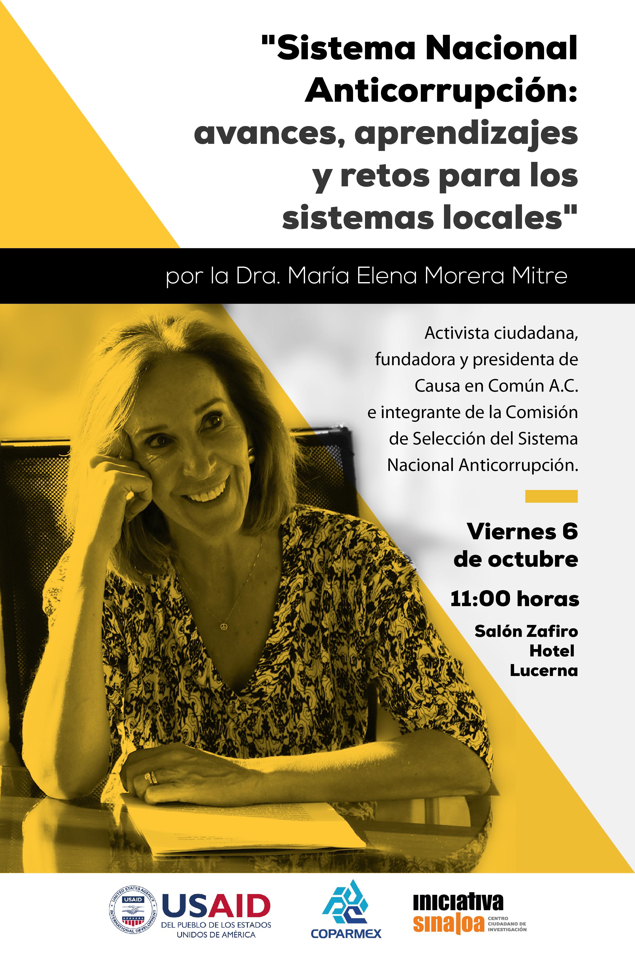 INVITACIÓN María Elena Morera