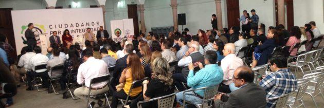 """Presenta Iniciativa Sinaloa y Tierra Colectiva programa """"Ciudadanos por la Integridad del Estado"""""""